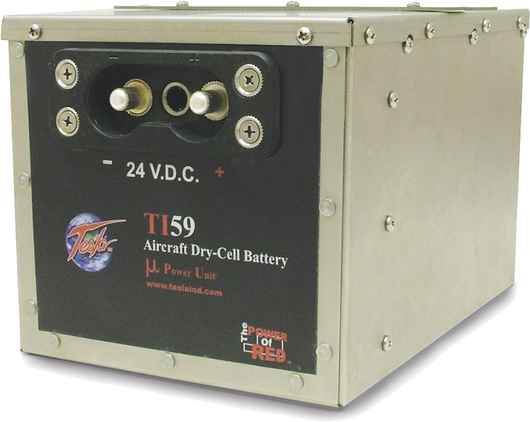 TI59 Aircraft Dry-Cell Battery